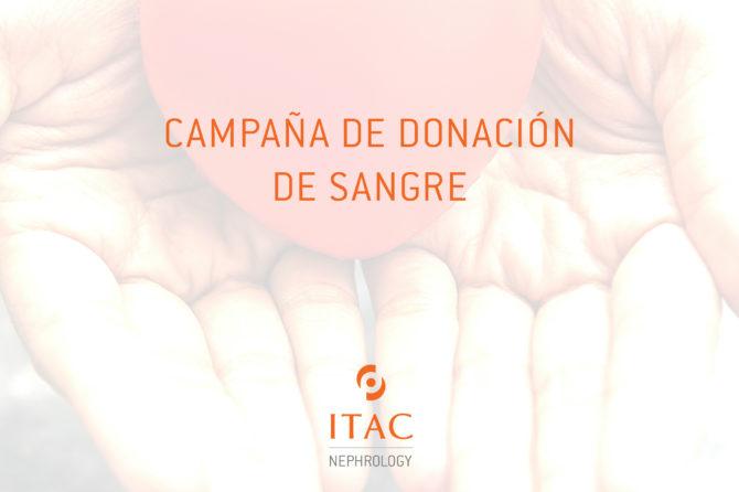 Campaña donación de sangre en ITAC – Ser un héroe se lleva en las venas