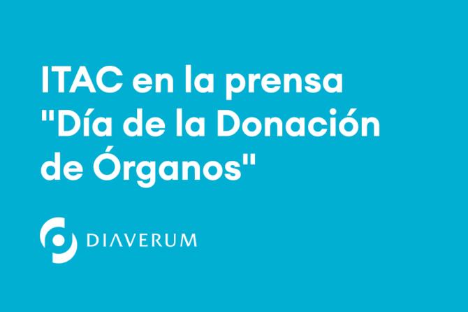 """ITAC en la prensa – """"Día de la Donación de Órganos"""""""